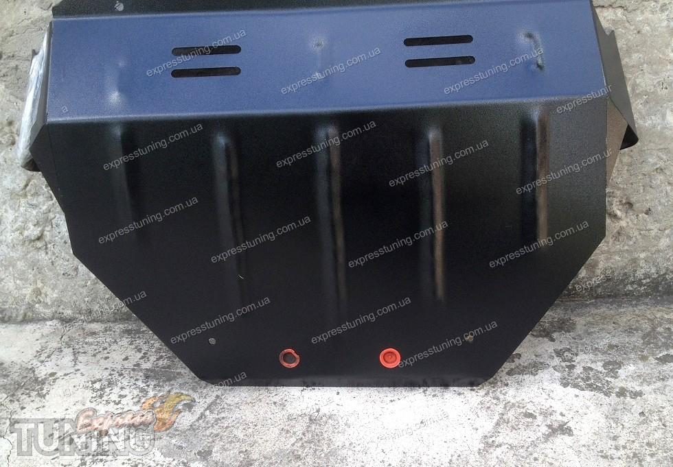 Защита картера двигателя bmw 5-й серии кузов е39 v-2,0; 2,3; 2,5; 2,8 (1995-2003) (сталь 2 мм) - опт три авс