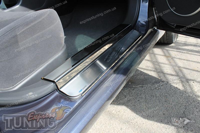 защитные накладки на дверные пороги chevrolet