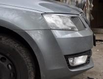 Заказать реснички на передние фары Skoda Octavia A7 (магазин Exp