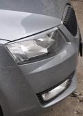 Тюнинг реснички на автомобиль Шкода Октавия А7 (ЭкпрессТюнинг)