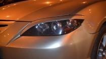 Реснички передние Mazda 3 Bk седан до низа (реснички фар Мазда 3 Bk до низа)