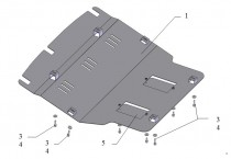 Защита двигателя Бид Ф0 (защита картера BYD F0)