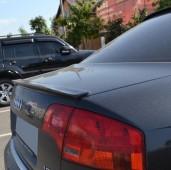 Спойлер сабля на багажник Audi A4 B6 заказать