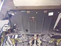 Защита двигателя Фиат 500 (защита картера Fiat 500)