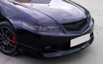 Реснички на фары Honda Accord 7 (накладки фар Хонда Аккорд 7)