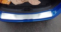 Накладка на задний бампер Форд Б-Макс (защитная накладка бампера Ford B-Max)