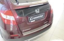 Накладка на задний бампер Хонда Кросстур (защитная накладка бампера Honda Crosstour)