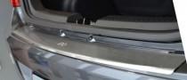 Накладка на задний бампер Хендай i10 (защитная накладка бампера Hyundai i10)