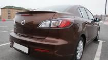 Спойлер Мазда 3 Bl (задний спойлер на багажник Mazda 3 Bl)
