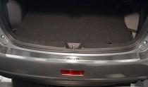 Накладка на задний бампер Митсубиси АСХ (защитная накладка бампера Mitsubishi ASX)