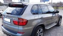 Спойлер на стекло БМВ Х5 Е70 (спойлер на заднее стекло BMW X5 E70 Hamman)