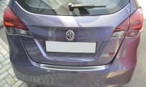 Накладка на задний бампер MG 5 (защитная накладка бампера Morris Garages 5)