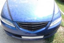 Решетка радиатора Мазда 6 (решетка Mazda 6 рестайл 2005-2008)