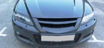 Фото Mazda 6 с ресничками на фары и без.