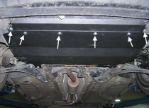Защита двигателя Ситроен С2 (защита картера Citroen C2)