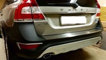 купить защитную накладку бампера Volvo XC70)