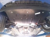 Защита картера Форд Фиеста 6 (защита двигателя Ford Fiesta 6)