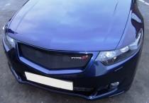 Решетка Honda Accord 8 (окантовка с сеткой)