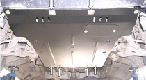 Titan Защита двигателя Мерседес Виано полный привод (защита картера Mercedes Viano 4Matik)