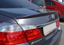 Накладка на крышку багажника Honda Accord 9 (спойлер)