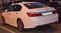 Установка спойлера на багажник Хонда Аккорд 9