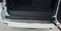 Накладка на задний бампер Тойота Прадо 150 (защитная накладка бампера Toyota Prado 150)