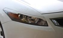 Реснички на фары Хонда Аккорд купе (накладка фар Accord Coupe)