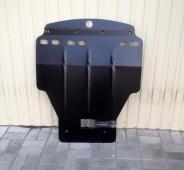 Защита картера Хонда Цивик 8 5Д хетчбек (защита двигателя Honda Civic 8 5D)