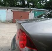 Спойлер на багажник Honda Civic 4d (лип спойлер Цивик 4д)