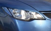 Продажа ресничек на передние фары для Honda Civic 4d