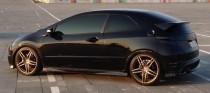 Тюнинг Honda Civic 5d (спойлер на площадку задней двери)