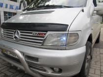 Купить реснички на передние фары Мерседес Вито W638 (ExpressTuni
