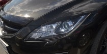 Купить реснички на фары Mazda 6 GH, 2008-2012