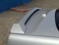 Установка заднего спойлера-антикрыла на Мерседес W140 седан