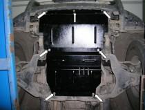 Защита двигателя Митсубиси Л200 (защита картера Mitsubishi L200 АКПП)