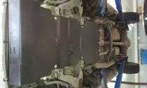 Защита картера Митсубиси Л200 РКПП (защита двигателя Mitsubishi L200 РКПП)