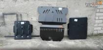 Titan Защита картера Митсубиси Паджеро Спорт 2 (защита двигателя Mitsubishi Pajero Sport 2 МКПП)