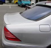 Спойлер Мерседес W220 (задний спойлер на багажник Mercedes W220)