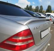 Спойлер на Mercedes W220 (спойлер на багажник Мерседес 220 высокий)