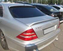 Купить задний спойлер на багажник Мерседес 220 кузов (S-Class)