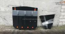 Защита картера Ауди 100 (защита двигателя Audi 100)