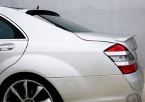 Купить задний лип спойлер на Mercedes W221 (ExpressTuning)
