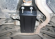 Защита коробки передач Субару Легаси 4 (защита КПП Subaru Legacy 4)