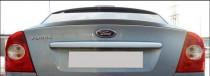 Зданий спойлер сабля на кромку багажника Ford Focus 2 седан