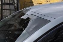 Козырек на лобовое стекло Шкода Октавия А7 (бленда на Skoda Octavia A7)