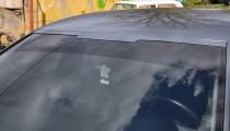 Тюнинг спойлер бленда на стекло Skoda Octavia A7