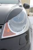Реснички на фары Ниссан Ноут (накладки фар Nissan Note)