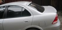 Установка спойлера на крышку багажника Ниссан Альмера Классик (ф