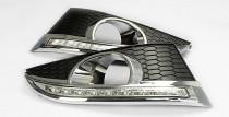 DRL дневные ходовые огни Chevrolet Captiva с 2012 (ДХО для Шевроле Каптива с 2012г)