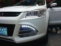 Дневные ходовые огни DRL для Ford Kuga new с 2013г (ДРЛ на Форд Куга)
